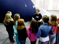 Greenwood students expand their horizons in portable planetarium