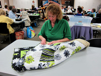 Quilting club melds expressive art, tradition, good works