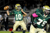 MEETING THE CHALLENGE: Woodmen quarterback takes pads-first approach