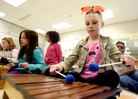 Photo gallery - Needham Elementary School music class