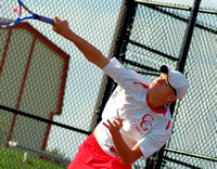 Center Grove facing Perry Meridian for tennis regional title