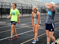Injured Center Grove runner might anchor relays at sectional