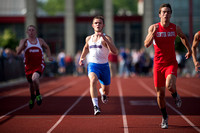 Center Grove sprints past opponents for team championship