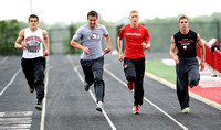 Trojans relay team needs great time at regional