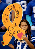 Double Celebration; Colts defeat Browns on day coach Pagano released from hospital