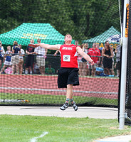 Trojan Tough - Junior wins discus title on Center Grove???s record-setting night