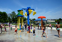 Plagued by water pressure problems, park officials working to fix splash pad???s
