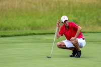Center Grove rallies in closing holes but finishes as runner-up in golf finals