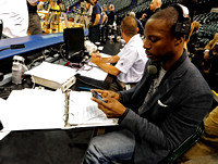 THE VOICE THAT SOARED - Only 29, Pacers' P.A. announcer is rising star in Indianapolis sports radio