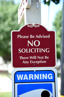 Don???t want solicitors? Put up a sign