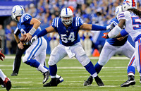 His own legacy - First-year Colts center had big shoes to fill