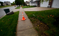 Fiber optic cable installation has residents peeved
