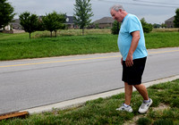 Residents await repairs to lawns along Whiteland Road