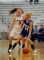 Franklin girls do their best to deal with adversity