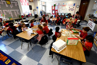 Educators adjusting to record-high kindergarten enrollment