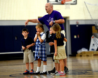 Gym teacher returns to classroom after battling cancer