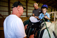 Horses help disabled children gain strength, confidence