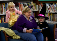 Photo gallery - Trick or Treat Story Time at the library