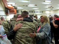 Soldiers return from Kuwait