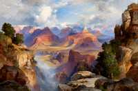 Grand Canyon exhibit on display at Eiteljorg