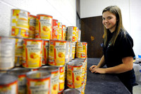 High school senior organizes food pantry for peers in need
