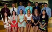 AND THE WINNERS ARE ... The JOHNSON COUNTY Athlete of the Year award recipients