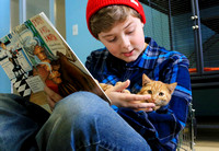 Literacy project aims to help kids read, socialize animals in need of adoption
