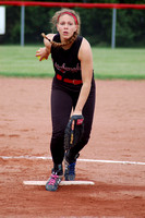 Senior pitches, hits Lancers to sectional title