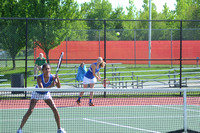 Warriors advance in tennis sectional