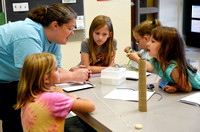 Students get hands-on experience with science, tech
