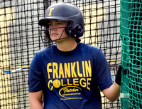 Franklin College softball player doesn???t let diabetes slow her down
