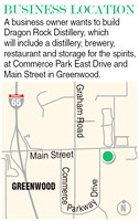 Distillery, restaurant proposed for Greenwood