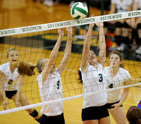 Warriors battle back; Woodmen also rally to win
