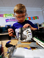 Youngsters turn inventors during Franklin camp