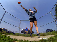 Whiteland sophomore seeking strong state finals finish in discus