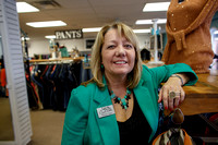 Treasure hunters - Resale-store shoppers enjoy thrill of chase