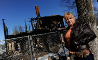 Residents push for demolition of fatal blaze site