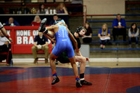Trojans pin down county wrestling title