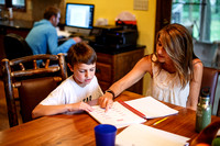 More families choose home-school option