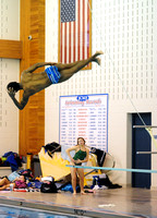 Franklin boys, Center Grove girls prevail in swimming, diving events