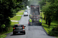 Repaving underway in Center Grove area