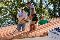 Churches gather to help in home construction