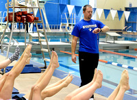 Whiteland coach stays busy by juggling swimming, track