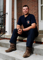 Second chances - Prospective firefighter set to graduate