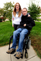 After man???s paralyzing accident, couple competing again