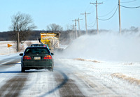Cold, blowing snow forces schools to close again