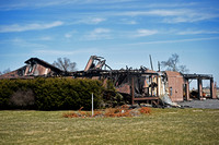Status of burned out Graham Road home