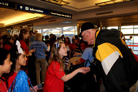 Honor flight - WWII vets take trip to see Washington memorial