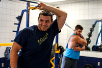 Franklin College All-American knows about being on the move