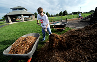 Center Grove juniors spend day in service